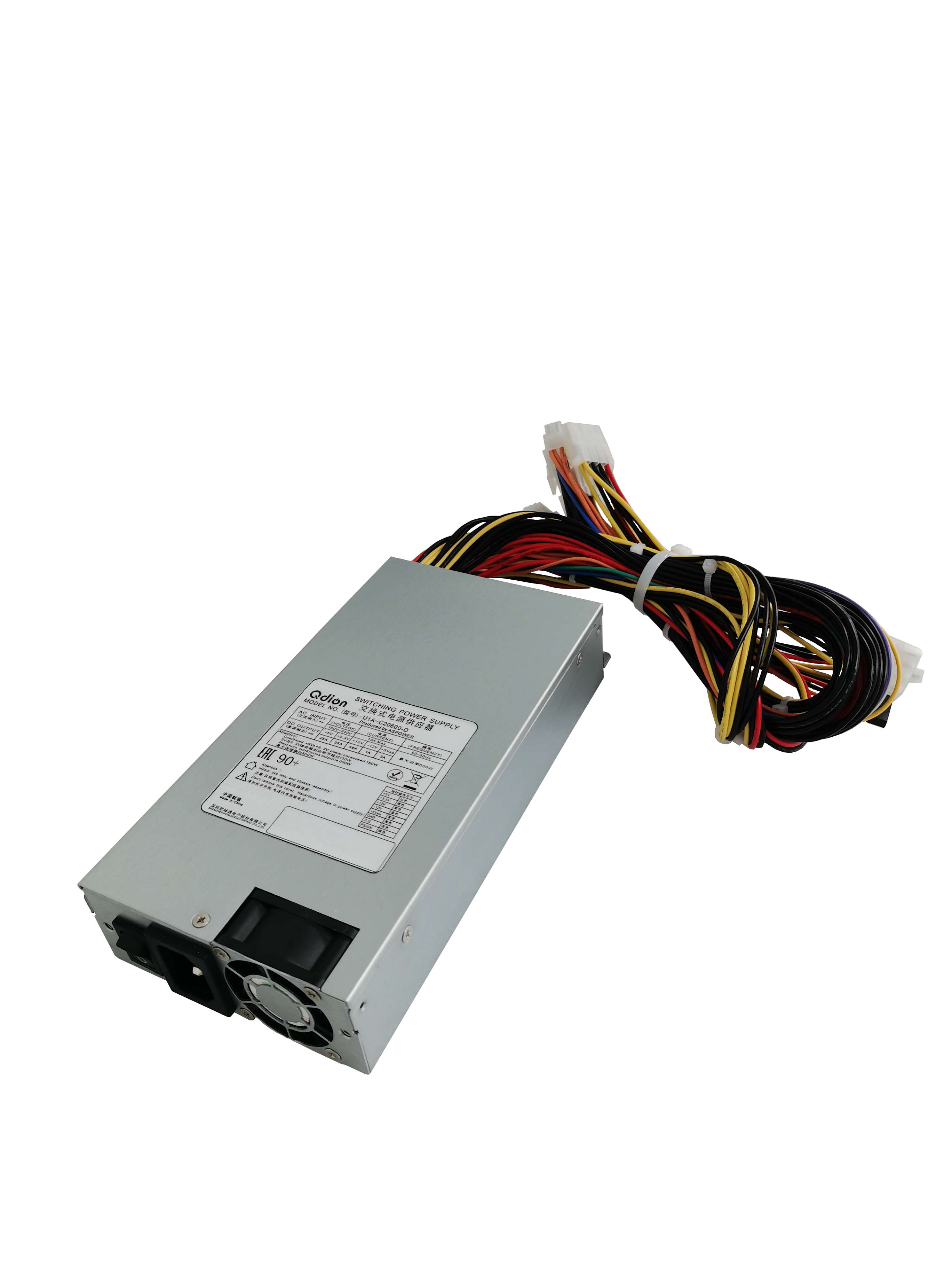 1U Single Server Power 600W