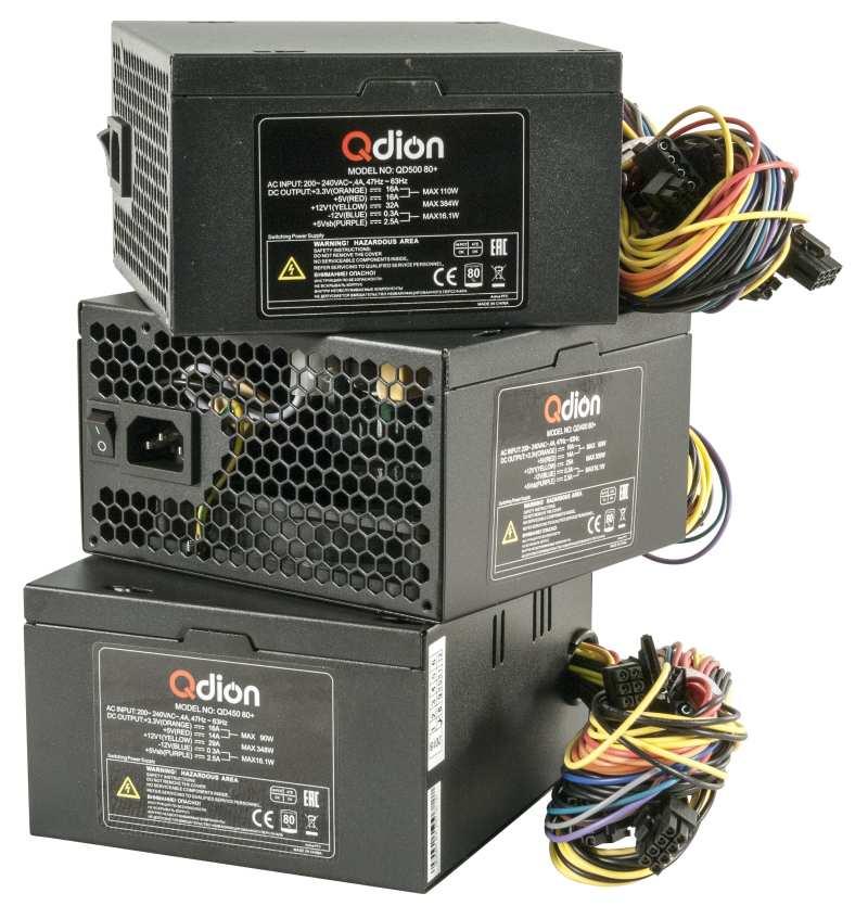 ATX PSU QDION QD400 450 500